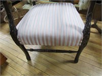 Vintage Upholstered Parlor Chair