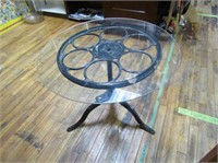 Custom Iron & Glass Table