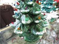 Ceramic Christmas Tree Complete