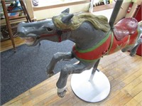 Heavy Metal Carrosel Horse