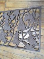 Grape Pattern Cast Iron Grate
