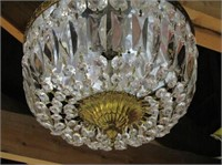 Crystal Ceiling Fixture