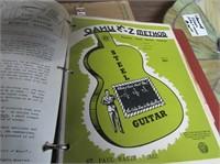Binder Guitar Music Sheets