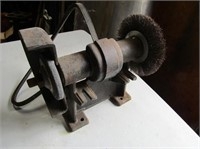 Bench Mount Grinder W Wire Wheel
