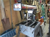 """10"""" Crafstman Radial Arm Saw On Stand"""
