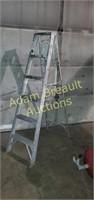 Werner jobmaster 6 ft aluminum step ladder