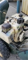Bolens Easy-Trac electric start snow blower w/