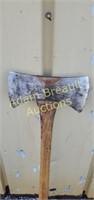 34 inch handle double blade axe