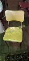 Vintage Chrome frame formica oval dining table