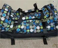 Travelers Club multi-compartment roller duffle