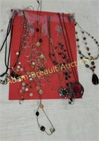 12 assorted women's necklaces