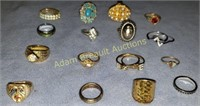16 miscellaneous rings