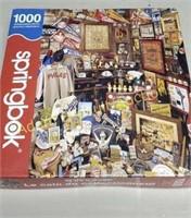 2 jigsaw puzzles, 550 piece, 1000 piece