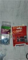 Box of screws, digit multi-meter, pen refills,