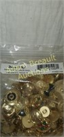 Dress it up fancy button value pack, 50 pieces or