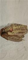 2 Rawlings baseball gloves and baseball