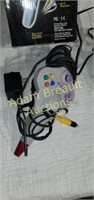 3 assorted game controllers