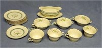 25 pieces Coralbel Old Ivory Syracuse China