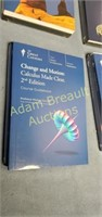The Great Courses DVD and book sets, new -
