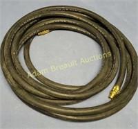 25 ft 3/8 inch air hose, 300 PSI Max Pressure