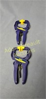 2 Irwin Quick Grip wood clamps, new