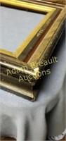3 vintage decorative picture frames