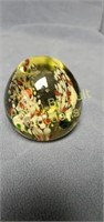 2.5 inch blown glass paperweight