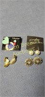 4 pairs assorted earrings