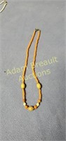8 assorted necklaces
