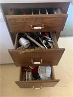3 Drawers Kitchen Utensils