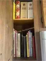 Kitchen Counter Contents & Cookbooks