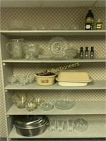 Pressed Glass, Pampered Chef Etc