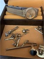 Watches, Cuff Links Etc
