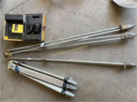 Tripods and Level and Transit Level