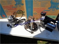 NOS EXHAUST VENTS & POWER TOOLS