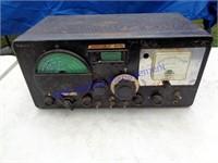 VINTAGE TUBE HALLICRAFTERS RADIO