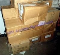 HUGE LOT OF CASSETTE TAPES (2500+) CASES
