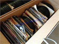 LARGE LOT OF 45 RECORDS