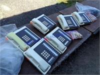 VINTAGE ROAD CASE WITH PHONES