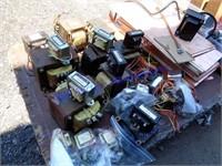 VINTAGE LOT OF OBSOLETE ELECTRONICS