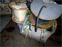 BIN OF SCRAP WIRE