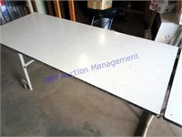 12 FOOT FOLDING TABLE