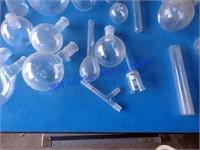 LARGE LOT OF LABORATORY GLASS