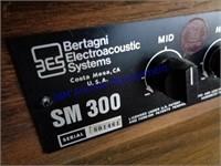 BES BERTAGNI ELECTROACOUSTIC SPEAKERS