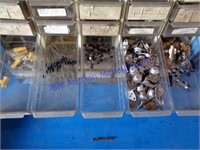 LOT OF METAL CABINETS & ELECTRONIC PARTS