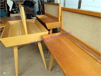 TEACHER'S SCHOOL DESK & LIBRARY FURNITURE