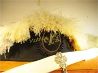 CATHOLIC KNIGHTS OF AMERICA CEREMONY HAT AND MORE