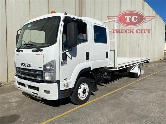 2012 Isuzu FRR 600 Crew Truck City - Trucks for Sale