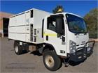 Isuzu NPS 300 4x4 4x4|Chipper Truck