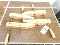 """Wood clamps w/ 14"""" long Jaws"""